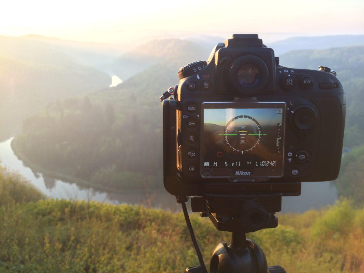 Nikon D800 Virtual Horizon