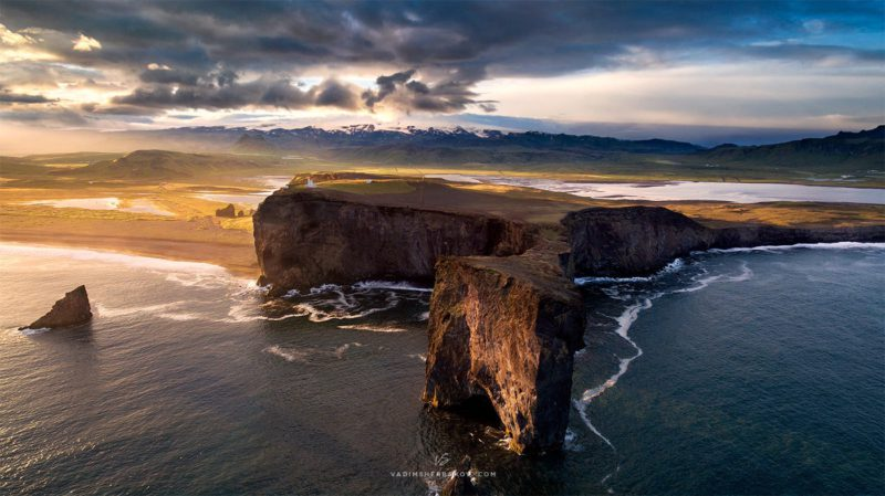 Landscape Photography With A Drone