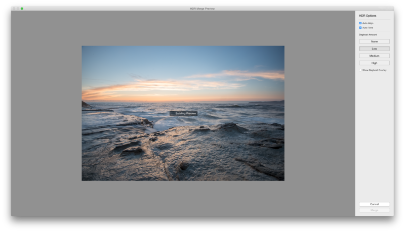 Capture the Full Dynamic Range by Taking Multiple Exposures