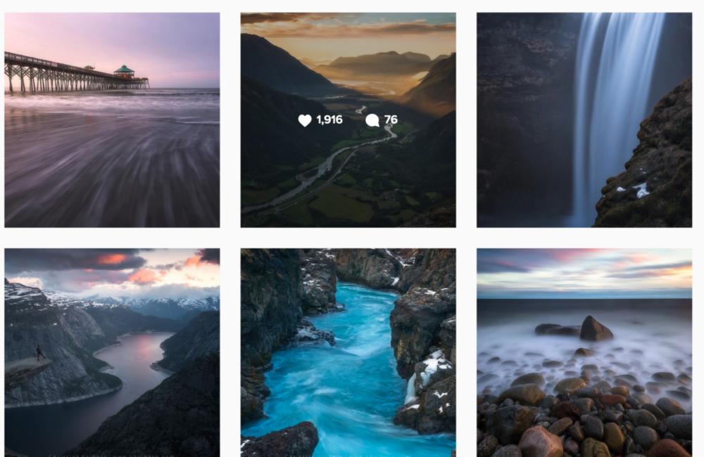 buksesmekken Instagram profile with posts and stories