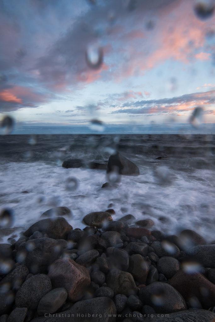 photographing in rain
