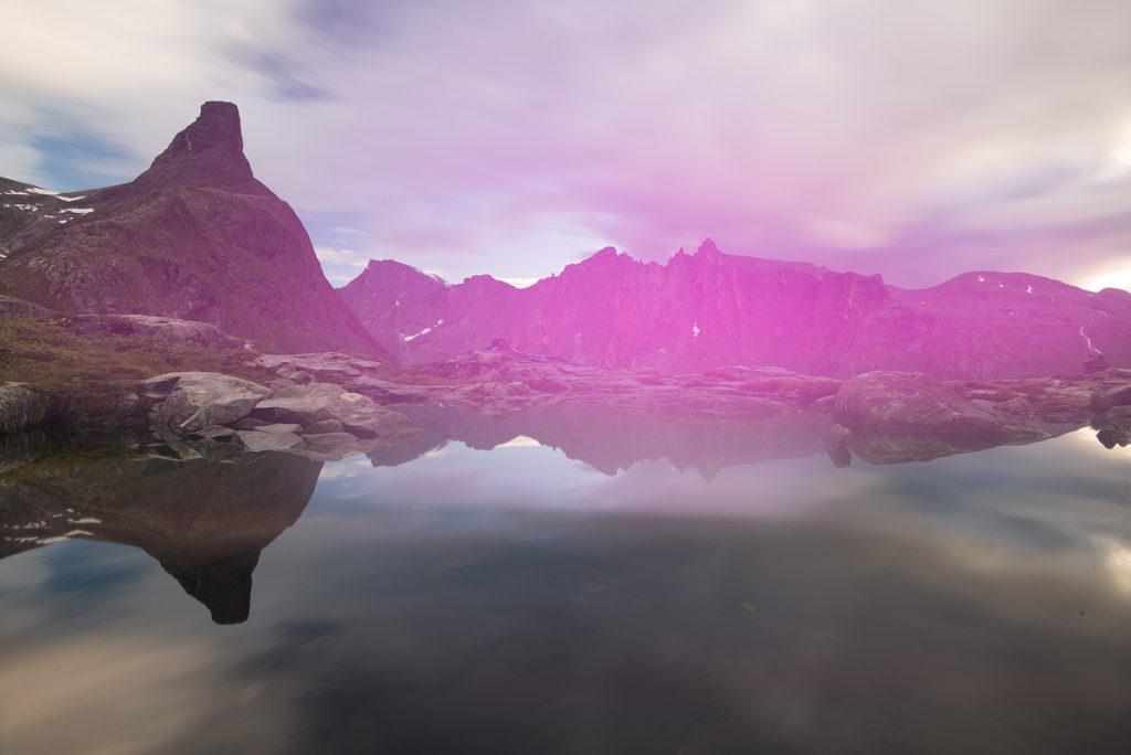 Light leak in long exposure photography
