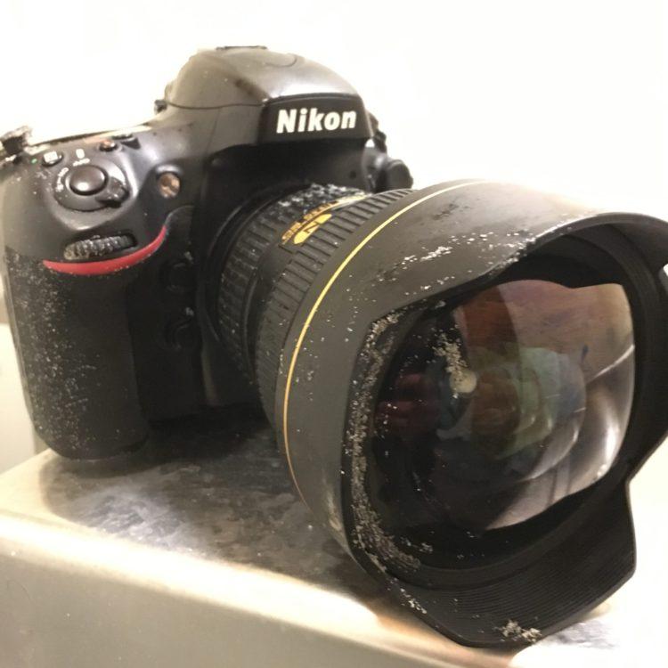 Broken Nikon D800
