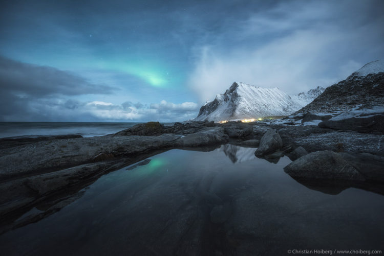 Photographing Lofoten Northern Lights