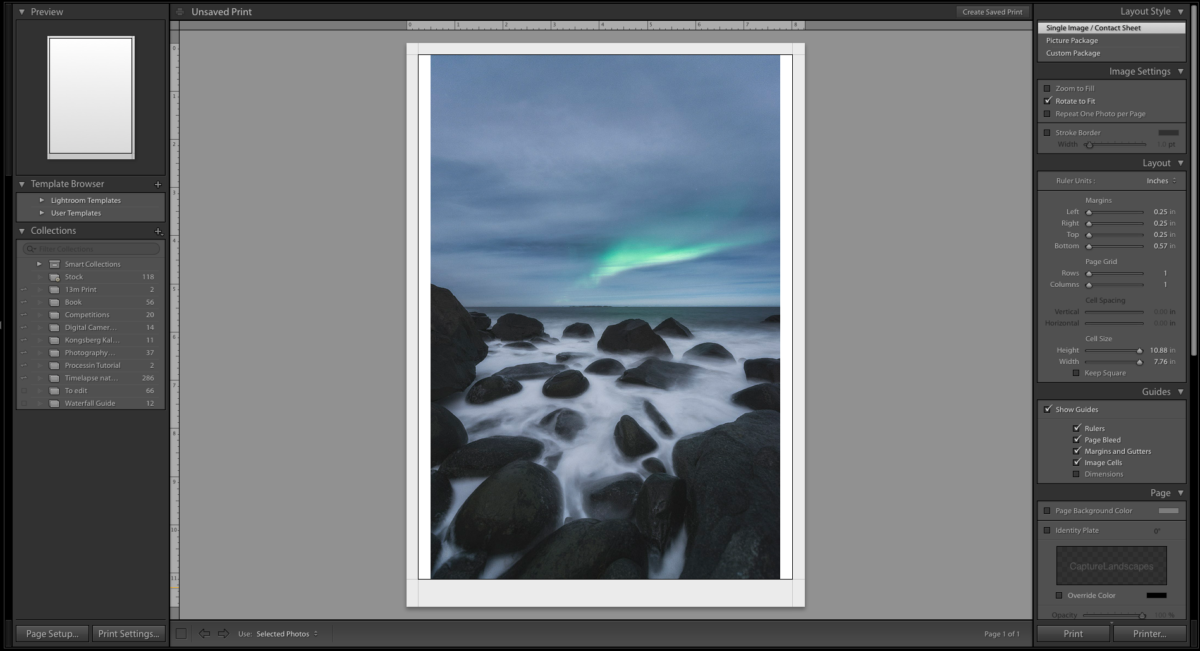 How to Prepare Images for Printing - CaptureLandscapes