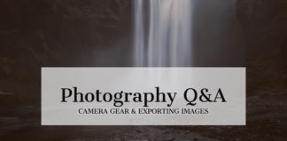 landscape photography q & a