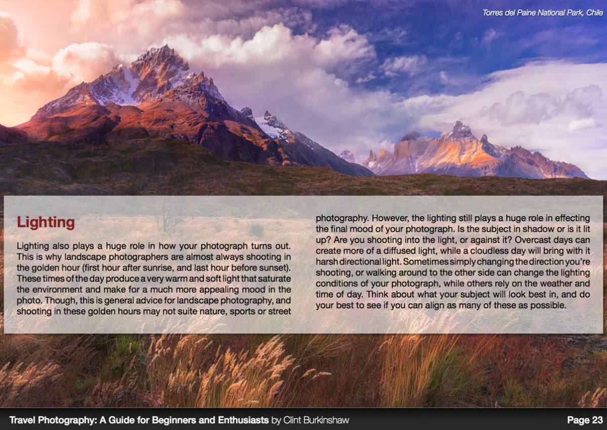 Travel Photography eBook