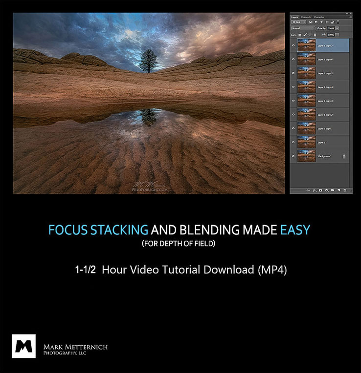 Focus Stacking for Depth of Field Made Easy