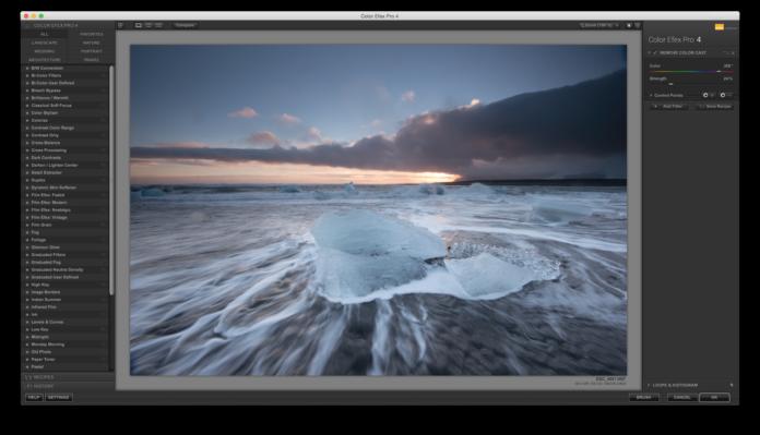Remove Color Cast in Nik Software