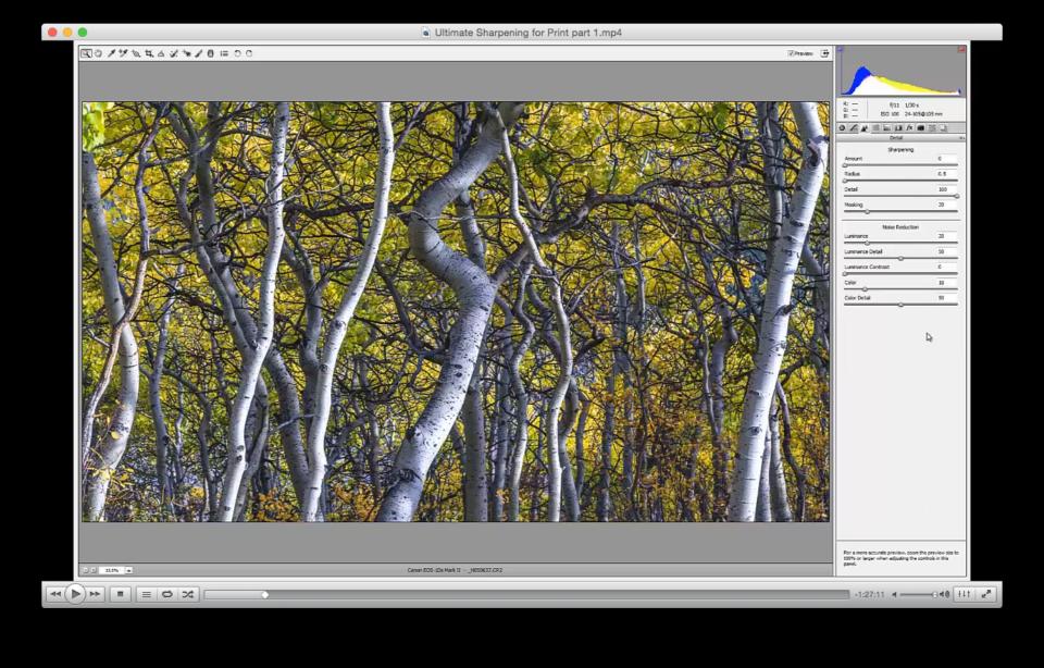 Ultimate Sharpening Workflow for Fine Art Printing - CaptureLandscapes