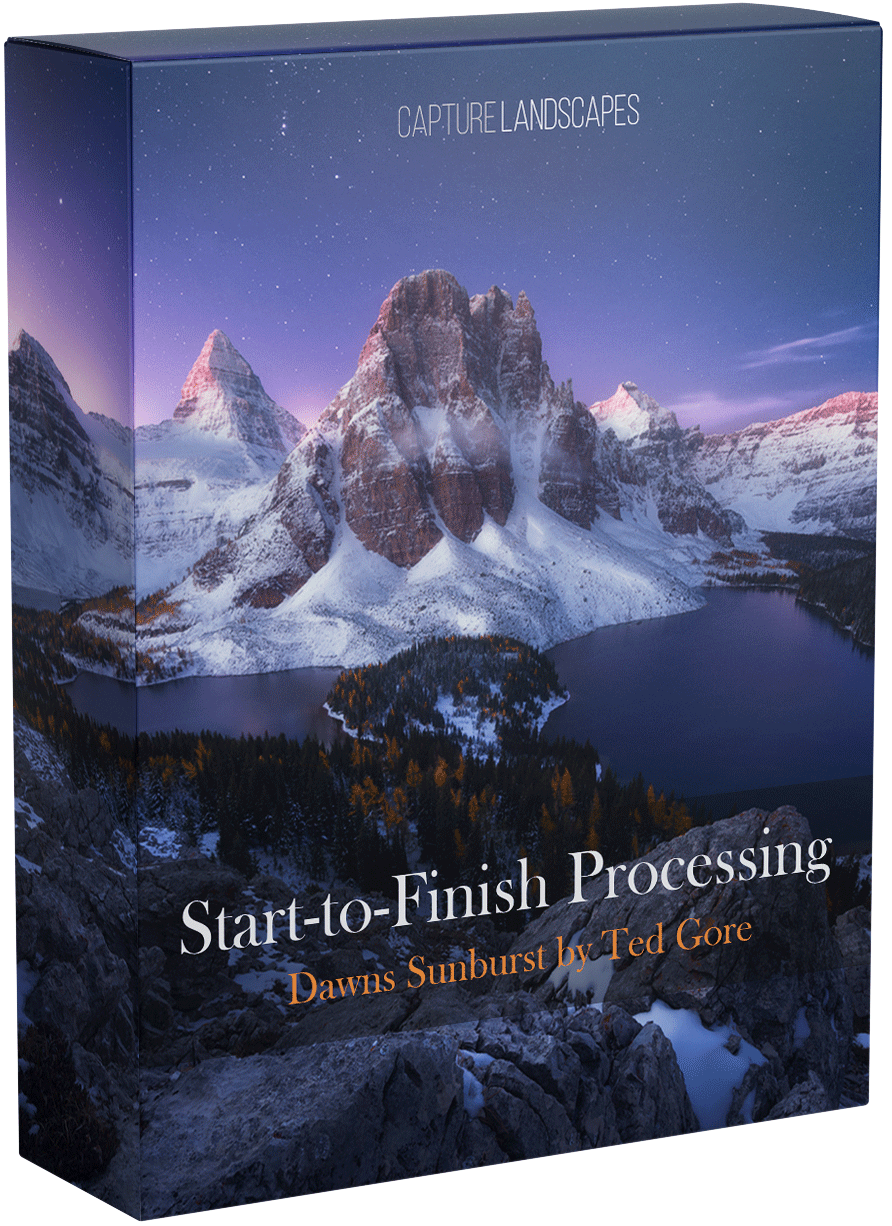 Dawns Sunburst Processing Tutorial by Ted Gore