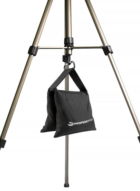 weighted bag tripod