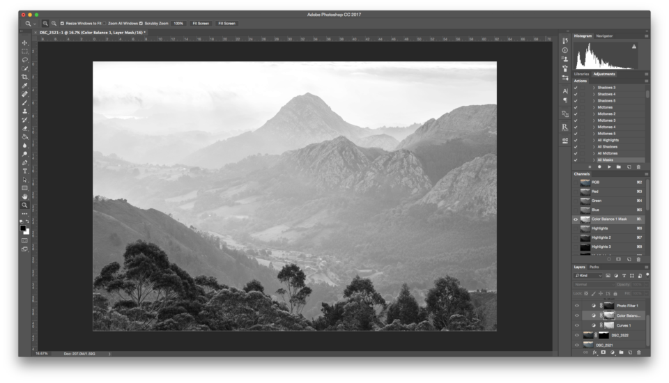Layers & Masks in Photoshop