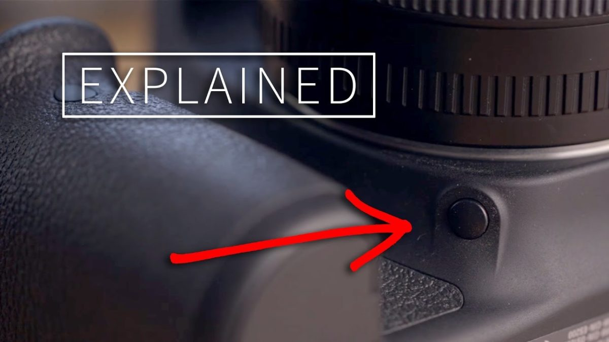 Depth of Field Preview Button Explained