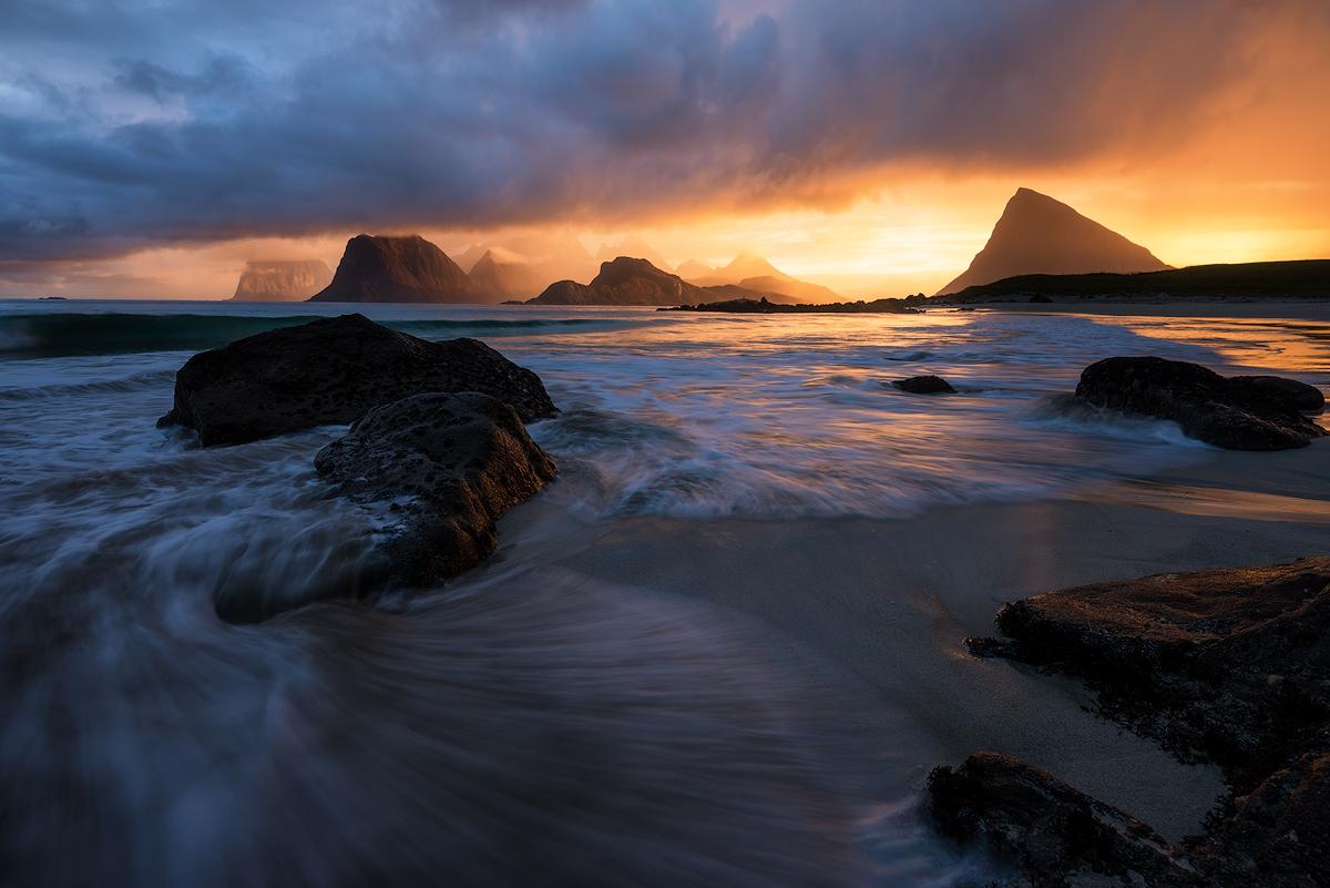 Myrland Lofoten Sunset