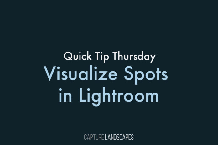 Visualize Spots in Lightroom