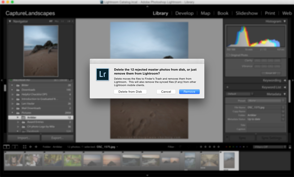 Use This Simple Trick to Delete Multiple Images in Lightroom
