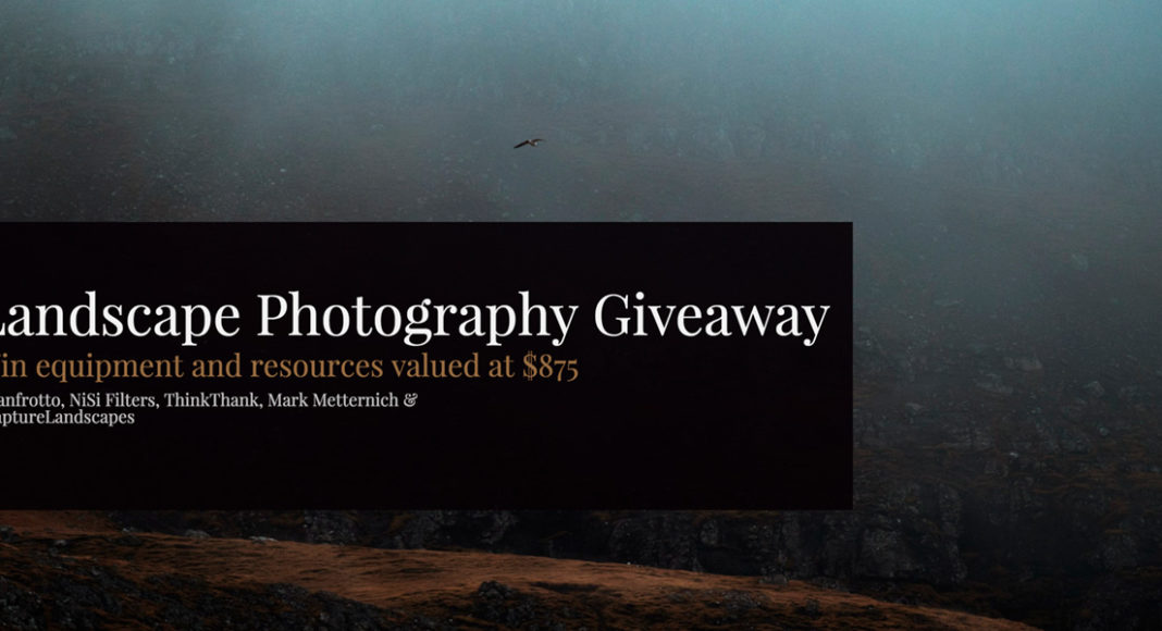 Landscape Photography Giveaway