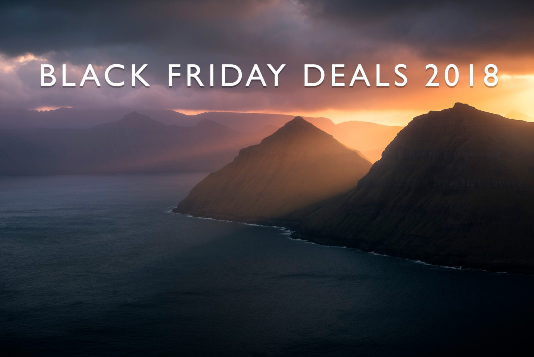 2018 Black Friday Deals for Photography