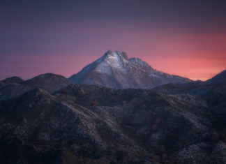 Landscape photography is not a competition