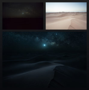 Desert Nights Post-Processing Tutorial