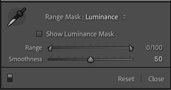 Range Mask Luminance