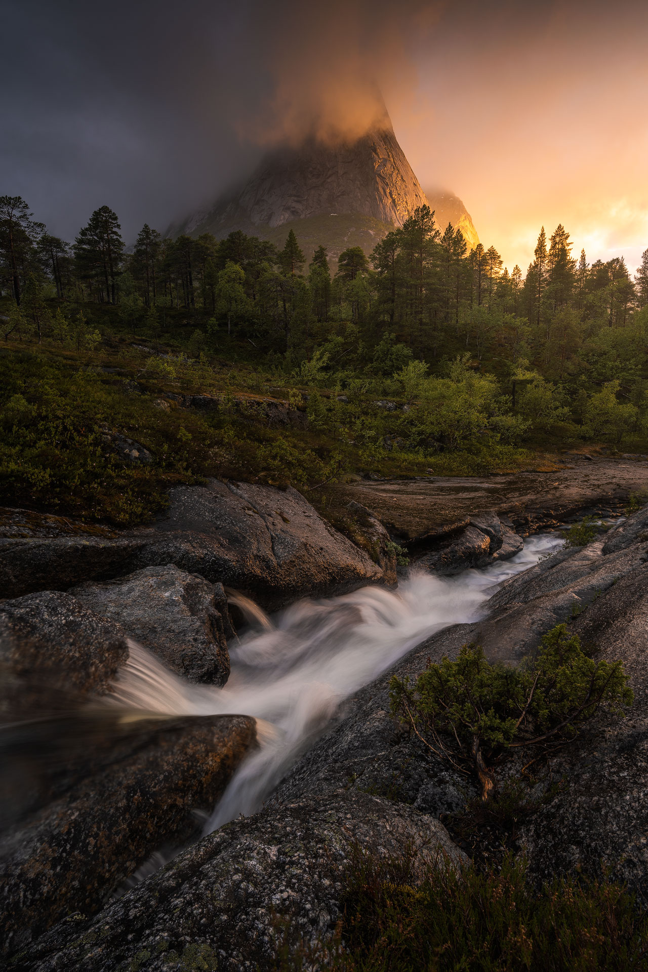 Patience in landscape photography