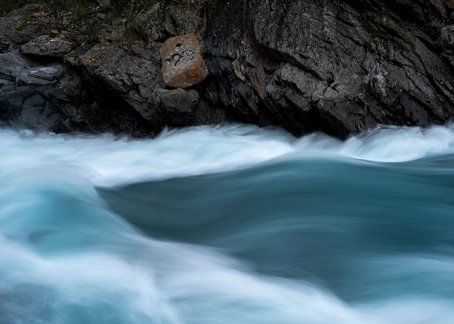 Abstract Telezoom in Landscape Photography